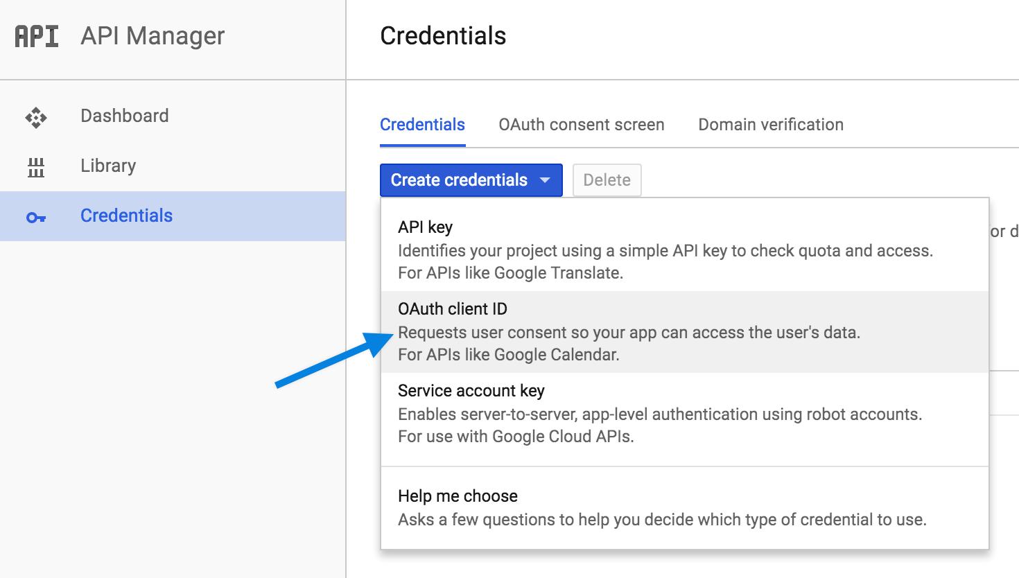 googlecalbookings-credentialcreation