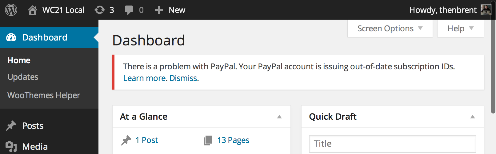 paypal-out-of-date
