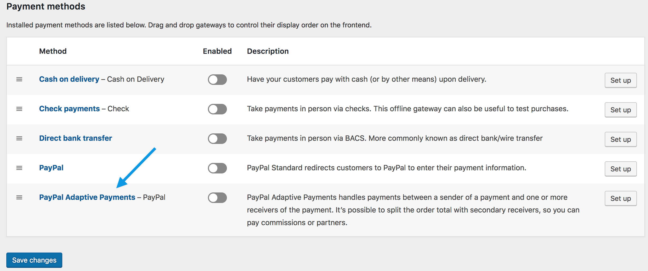 PayPal Adaptive Payments - WooCommerce Docs