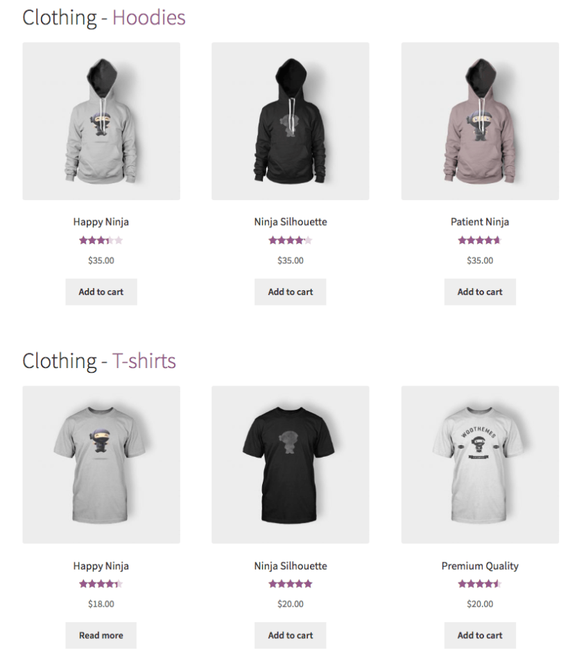 WooCommerce Nested Category Layout  After