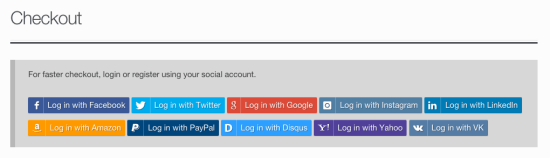 WooCommerce Social Login Checkout Notice