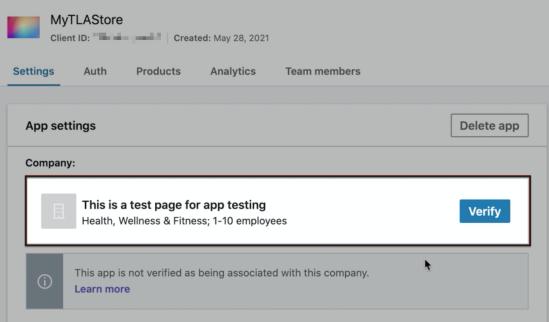 WooCommerce Social Login LinkedIn App settings verify