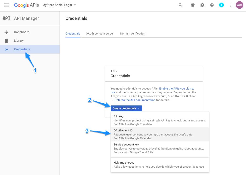 WooCommerce Social Login: Create Social Apps - WooCommerce Docs