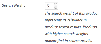 Fine-tune Search Relevance with Search Weights for Products and Product Categories.