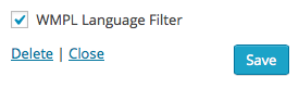 WPML-Language-Filter-Widget-Setting