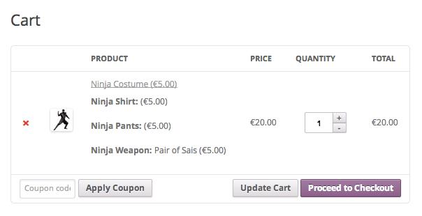 WooCommerce Ninja Forms Product Add-Ons - WooCommerce Docs