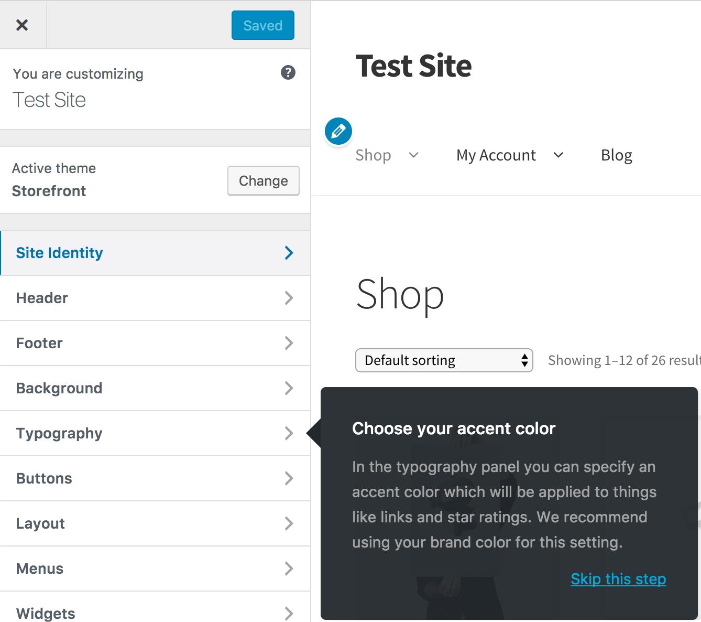 Storefront Installation & Configuration - WooCommerce Docs