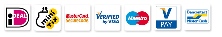 Payment methods supported by Rabo OmniKassa