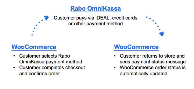 Overview of Rabo OmniKassa process