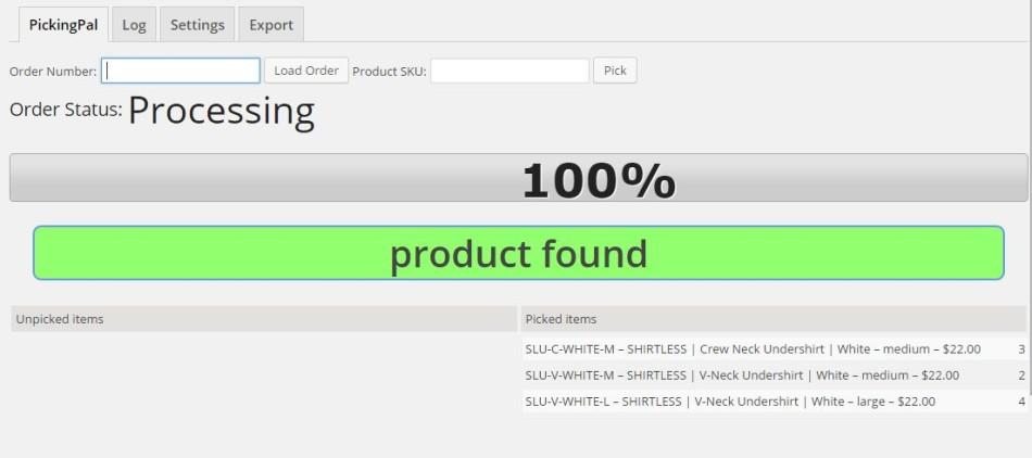 pickingpal-successful-scanned-item-progress-bar-update-complete