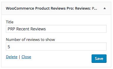 WooCommerce Product Reviews Pro - WooCommerce Docs