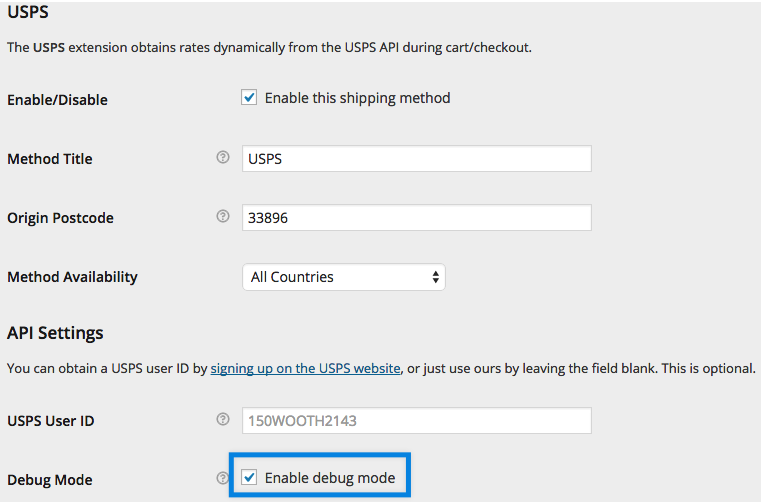 shipping-usps-settings