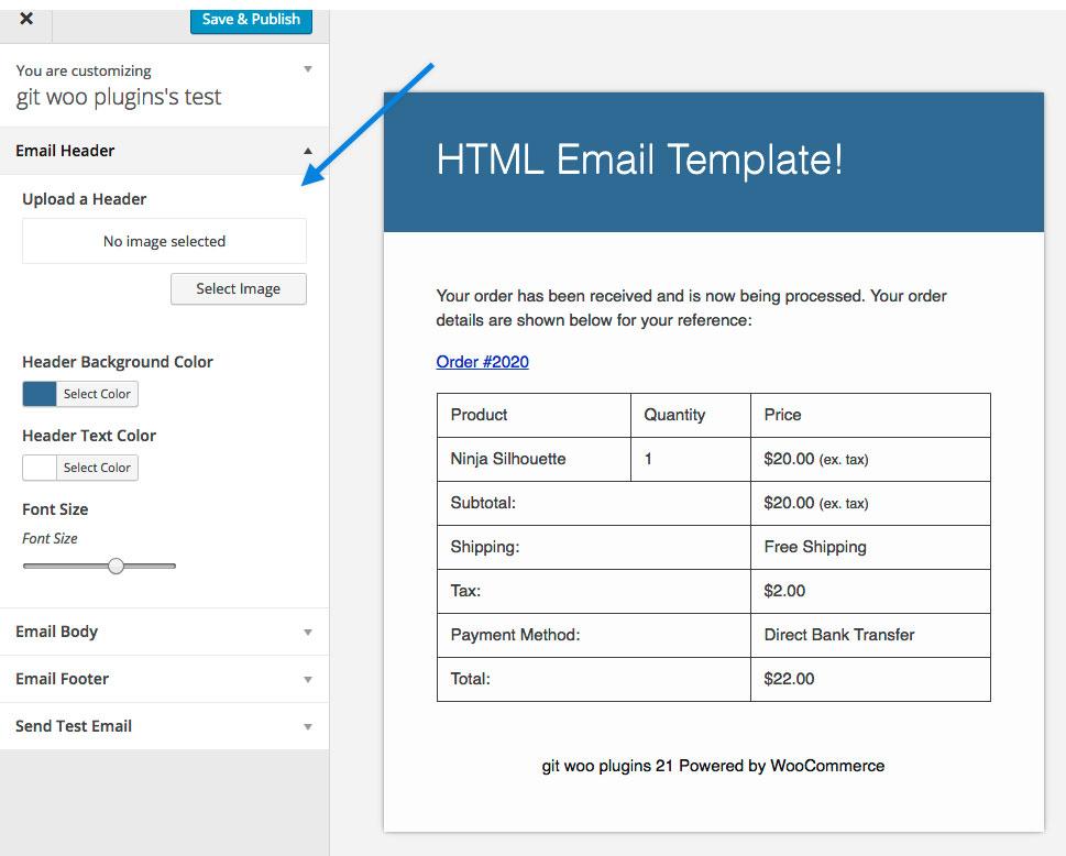 Woocommerce Email Customizer Woocommerce Docs