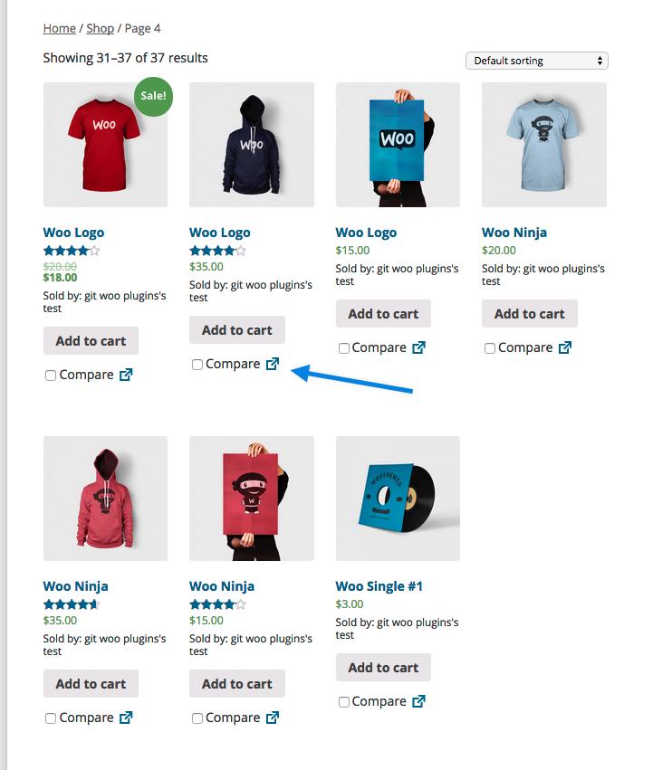 WooCommerce Products Compare - WooCommerce Docs