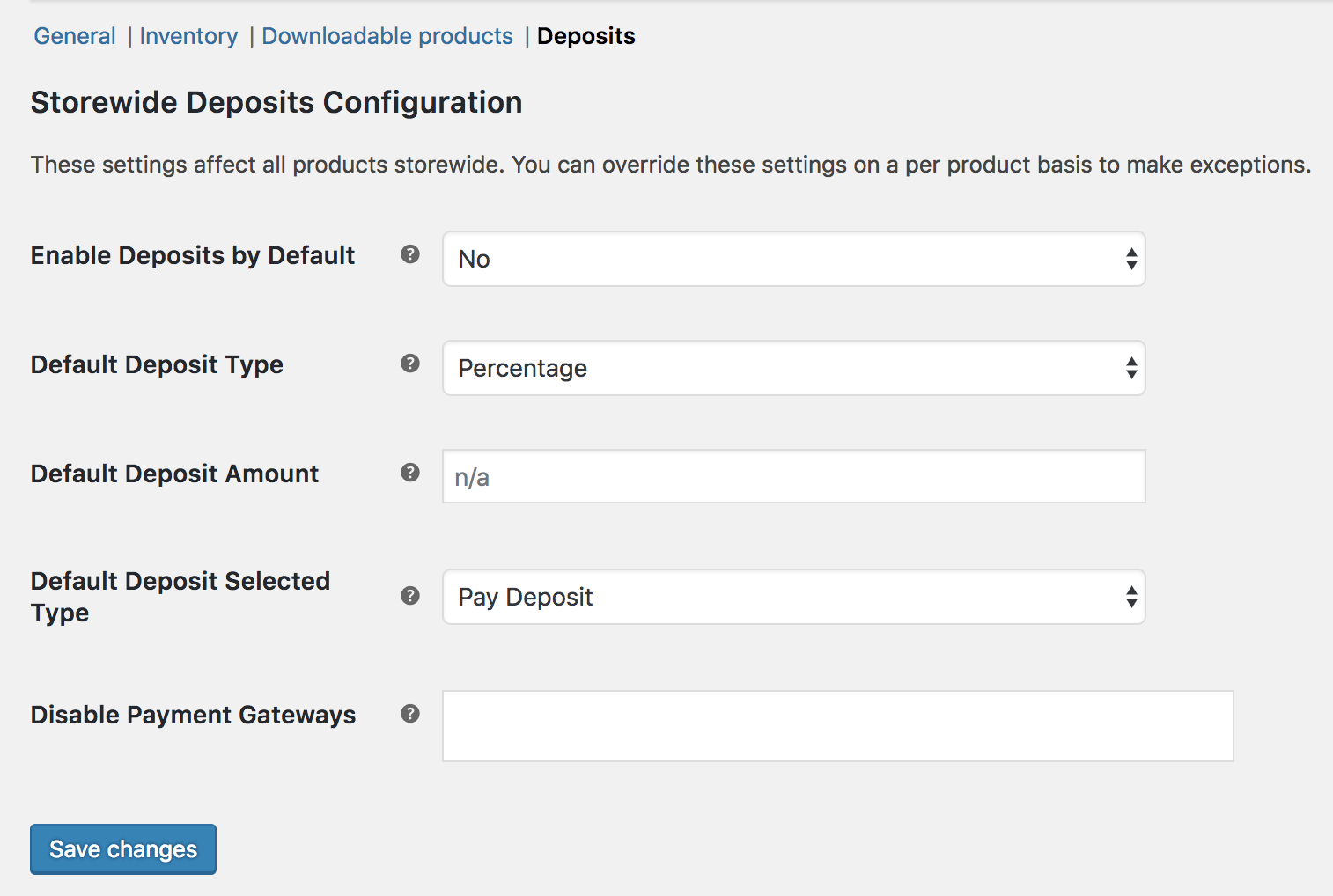 woocommerce deposits woocommerce docs