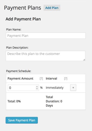 woocommerce deposits payment plans