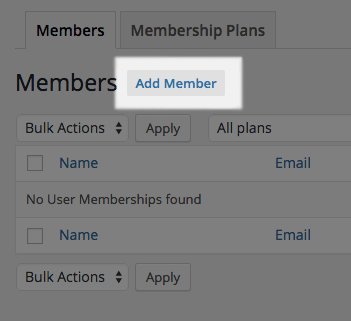 WooCommerce Memberships manually add member 1