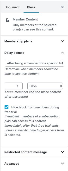Woocommerce Memberships Restrict Content Woocommerce Docs