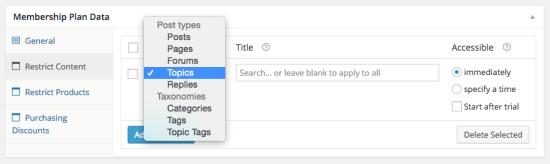 WooCommerce Memberships: bbPress integration