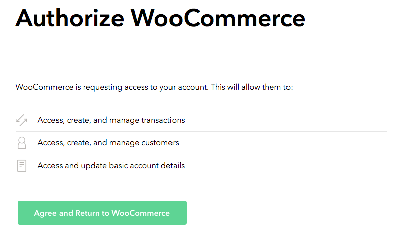 WooCommerce PayPal Powered by Braintree connect step 2