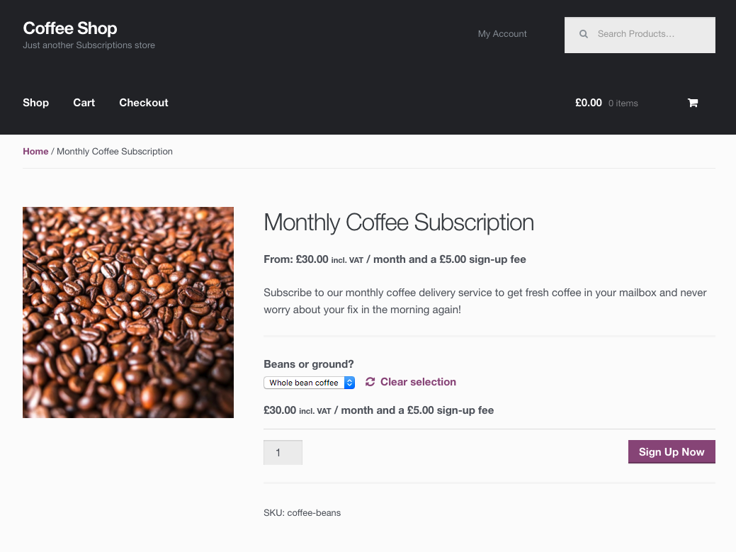 coffee-productpage