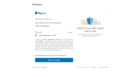 PayPal Checkout with Subscriptions 2.0.9: Transaction Details are not Displayed