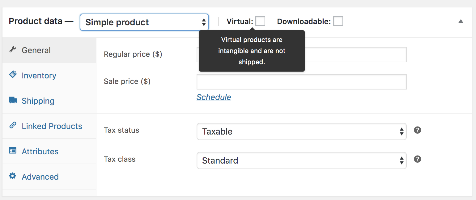 Adding and Managing Products - WooCommerce Docs