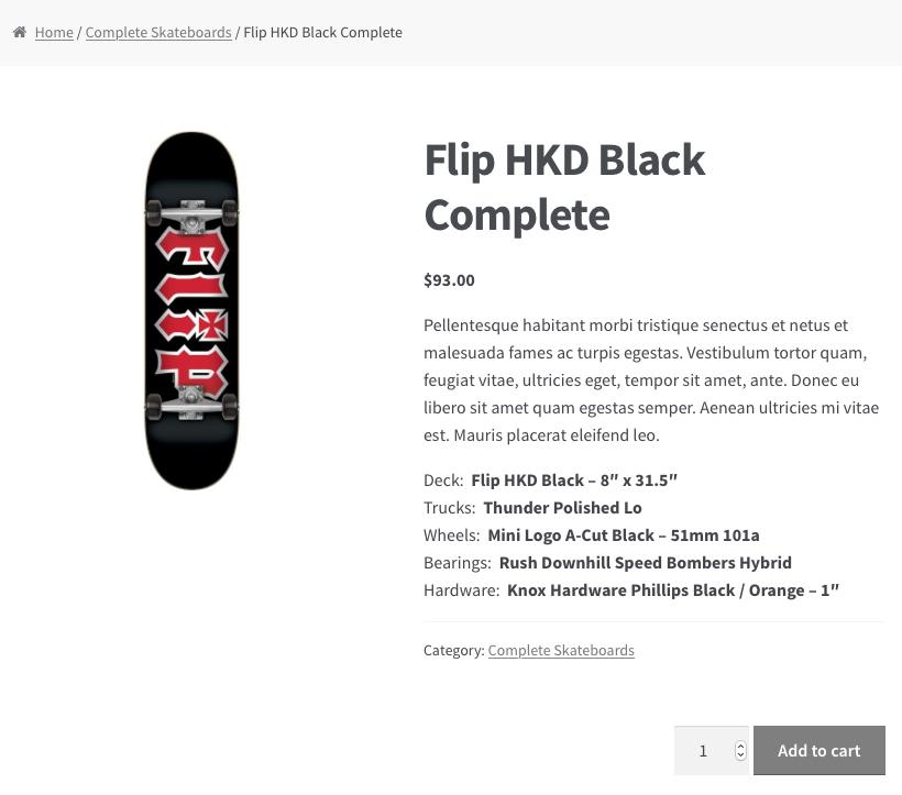 The Complete Skateboard bundle.