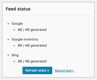 Google Product Feed - Feed item caching - WooCommerce Docs