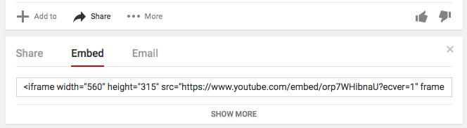 WooCommerce memberships embed video