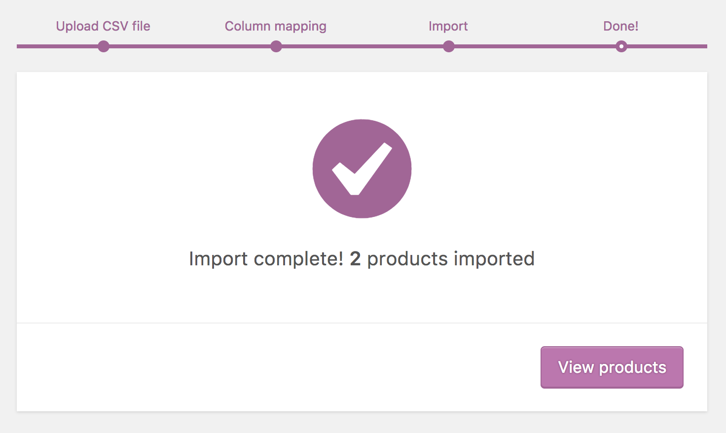 Learn about import procedure