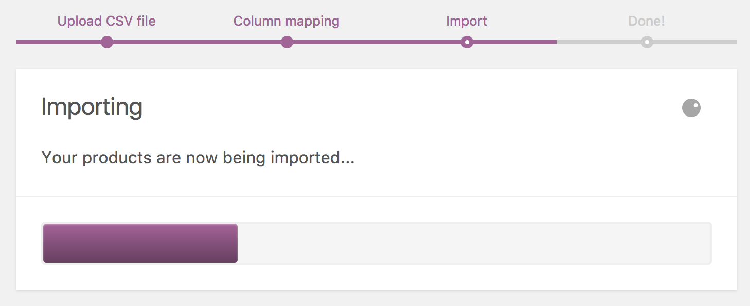 Product CSV Importer and Exporter - WooCommerce Docs