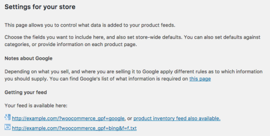 Google Product Feed - Setting up your feed in Google Merchant Centre ...