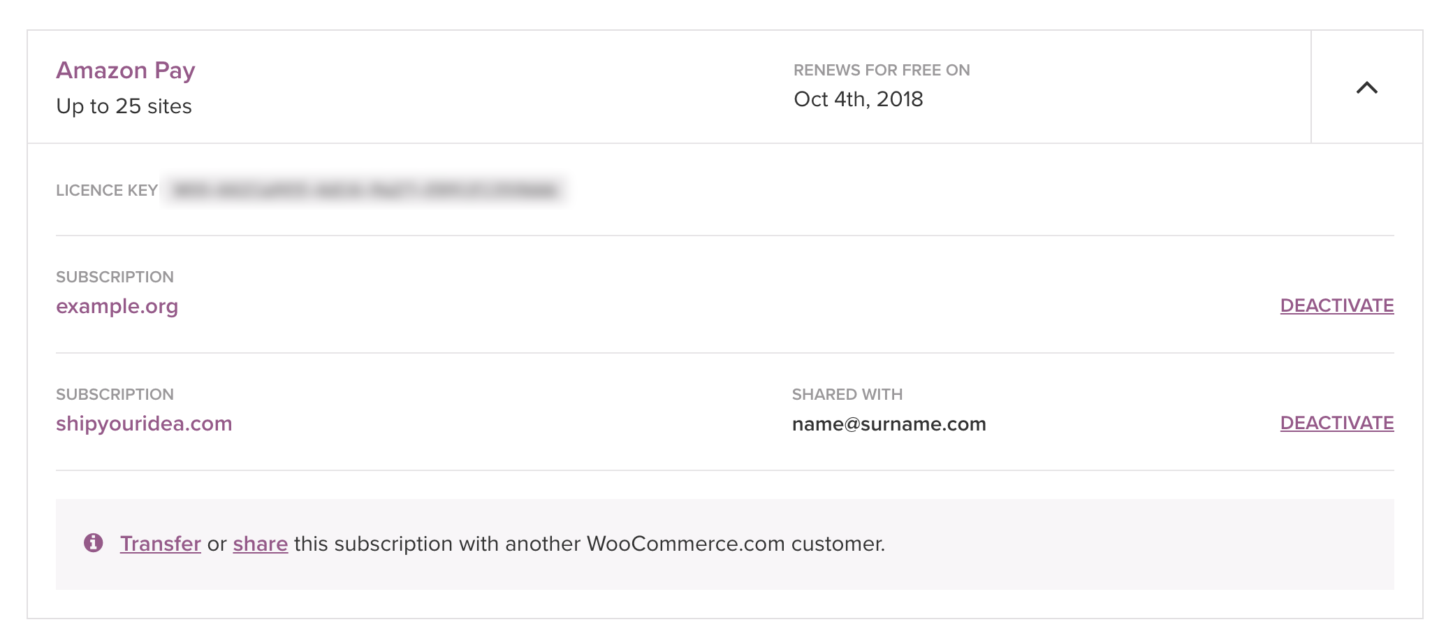 Managing WooCommerce com subscriptions - WooCommerce Docs