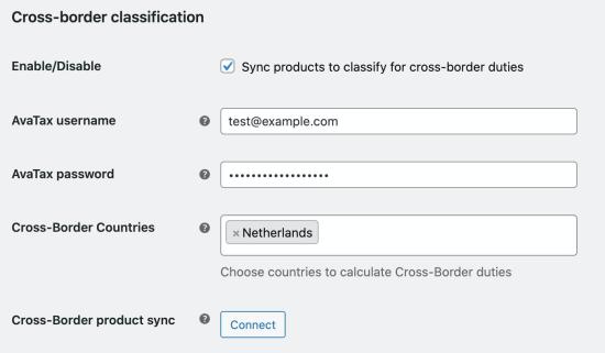 avatax-cross-border-connection-fields