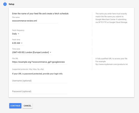 Google Product Feed - Product Review Feeds - WooCommerce Docs