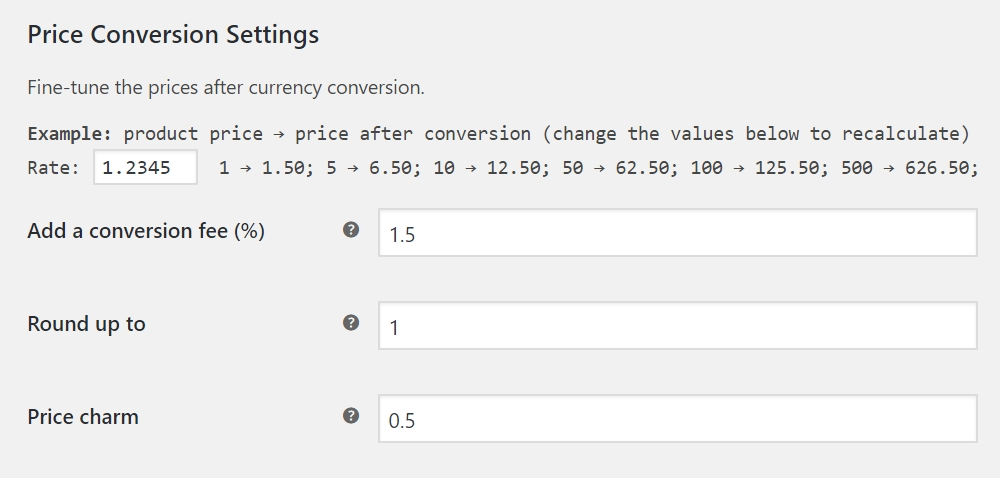 Multi-currency - rounding