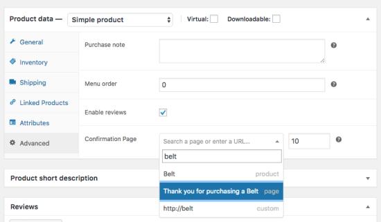 Custom Thank You Pages - WooCommerce Docs