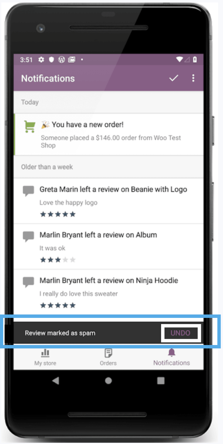 WooCommerce for Android