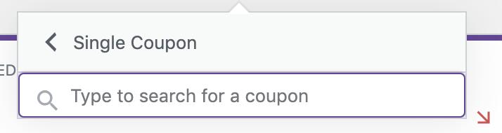 Coupon Filter