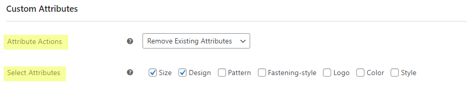 Bulk Edit Products, Prices and Attributes    Bulk Edit custom attributes