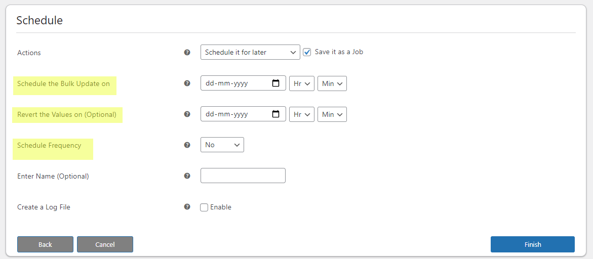 Bulk Edit Products, Prices and Attributes    schedule bulk edit for later