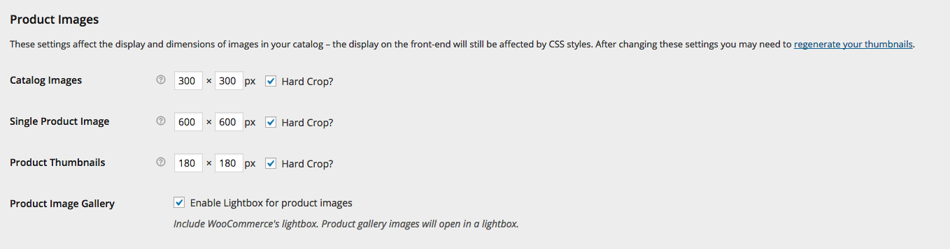 Since WC 2.3, these settings are located in WooCommerce > Settings > Products > Display
