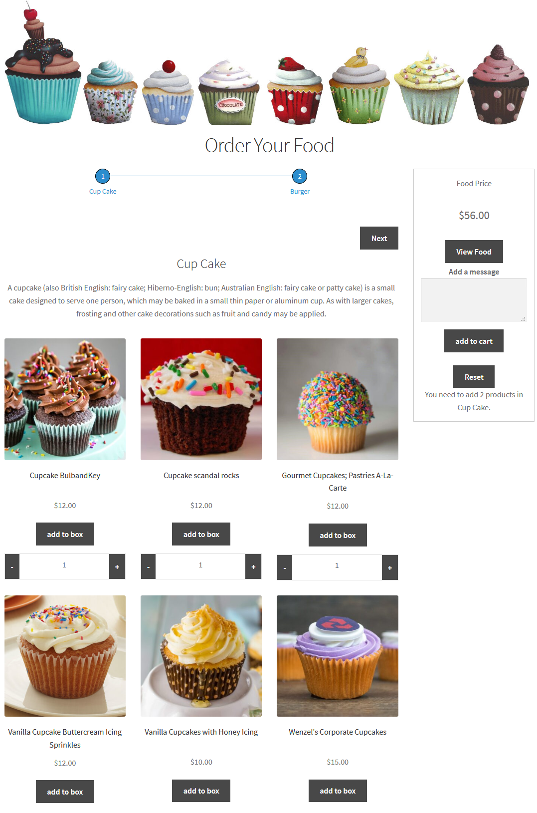 bundle builder for woocomerce pricing layout at right side
