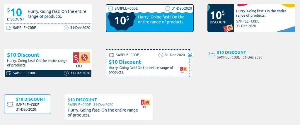 Smart Coupons change display format of expiry date (before)
