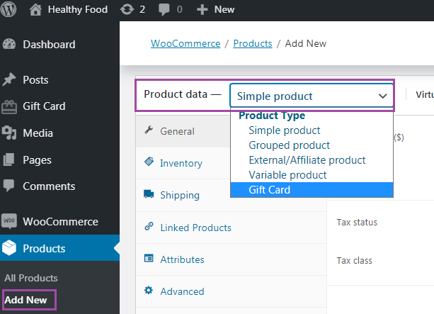 Product Settings   Fine-tune some general settings of the plugin