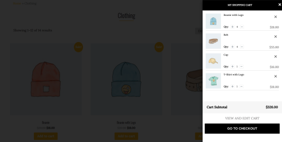Mini-Floating-Cart-For-WooCommerce-Front